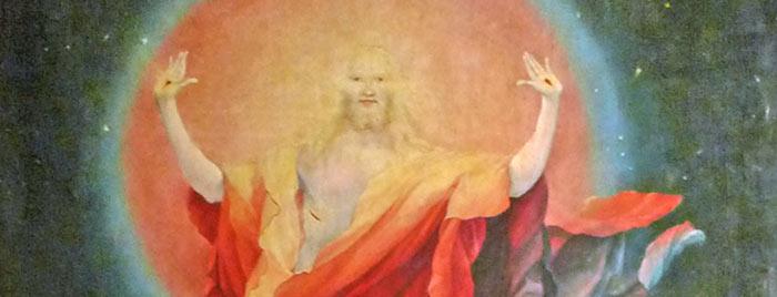 Christi Himmelfahrt aus Isenheimer Altar, Matthias Grünewald, gemeinfrei, Quelle: de.wikipedia.org