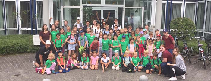 Gruppenfoto Kids Camp 2019 © privat